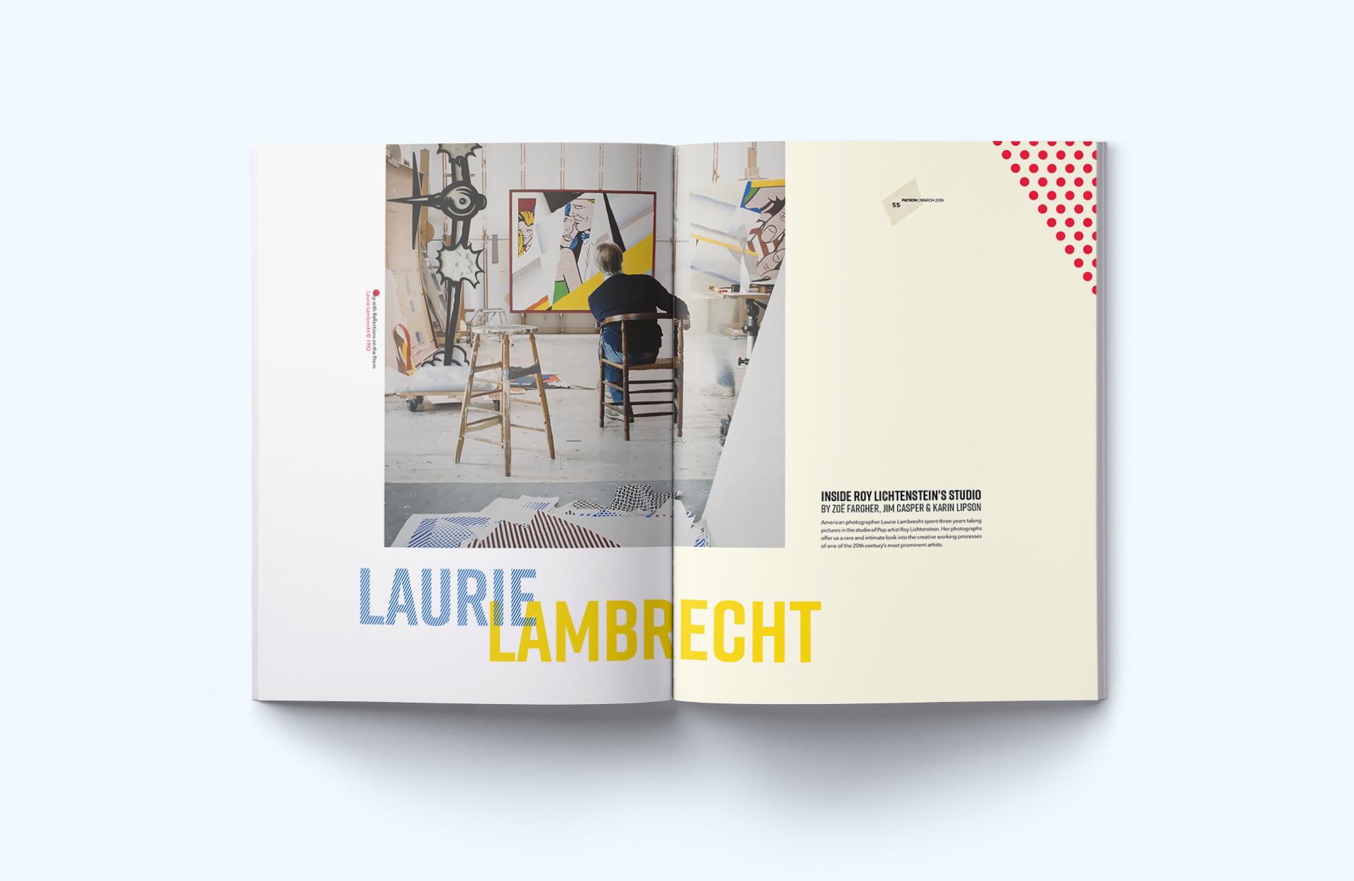 LAURIE LAMBRECHT: INSIDE ROY LICHTENSTEIN'S STUDIO